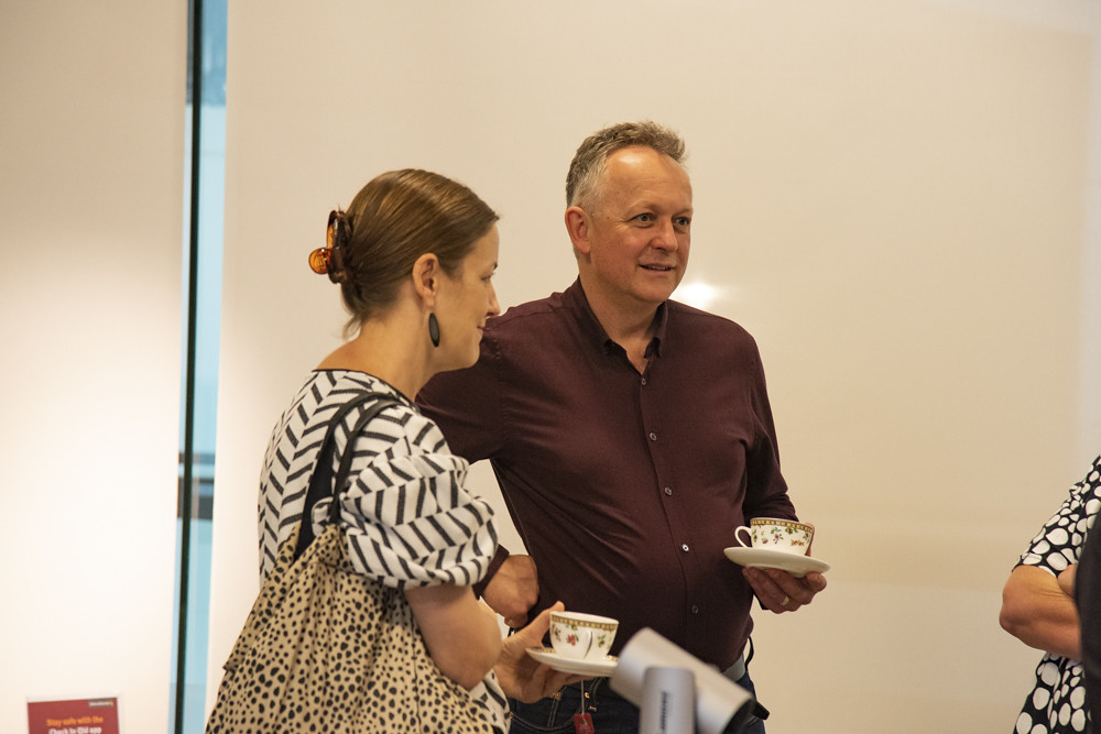 Richard Stringer Collection donation handover morning tea