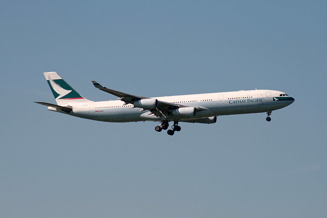 B-HXC Airbus A-340-313 Cathay Pacific