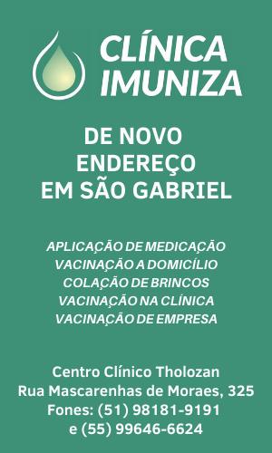 Clínica Imuniza São Gabriel - agora em novo endereço
