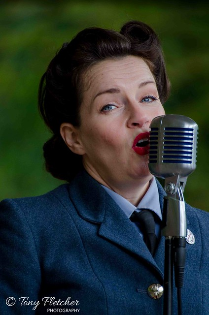 'LULA MAY' - 'CRICH TRAMWAY VILLAGE WW2 / HOMEFRONT EVENT'