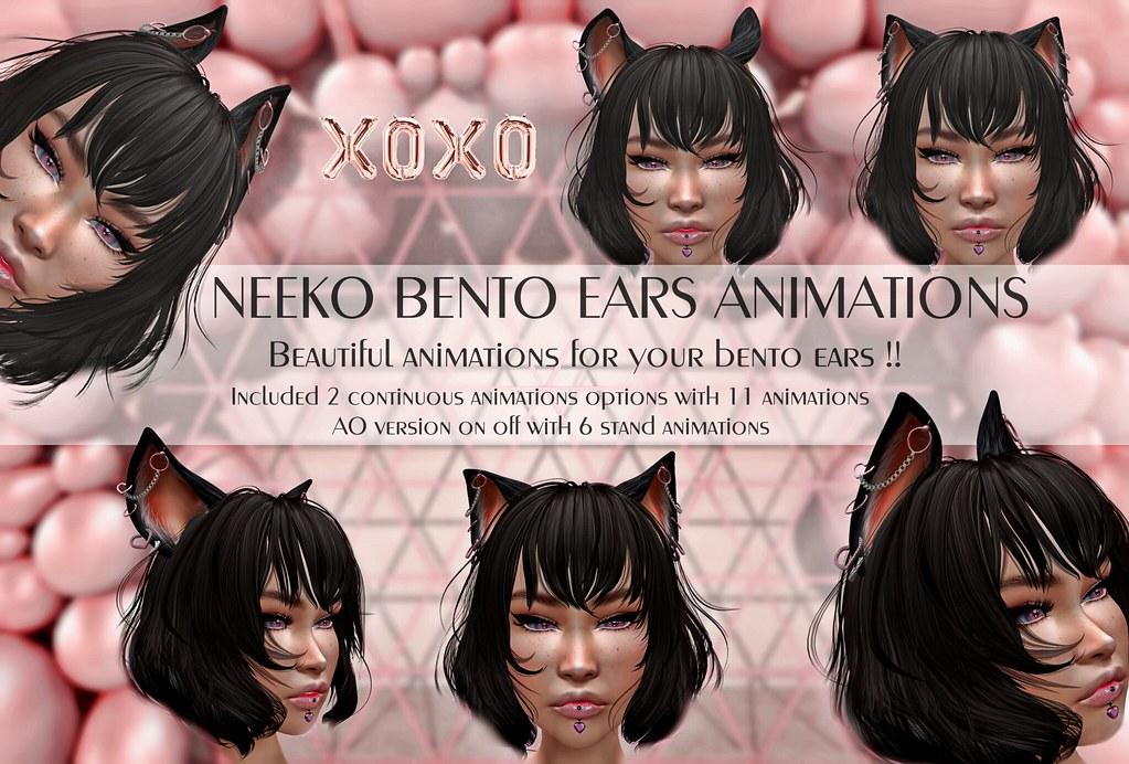 XOXO – NEEKO BENTO EARS ANIMATIONS