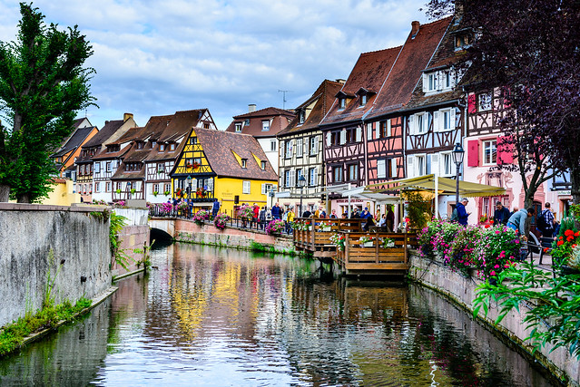 The colours of Colmar