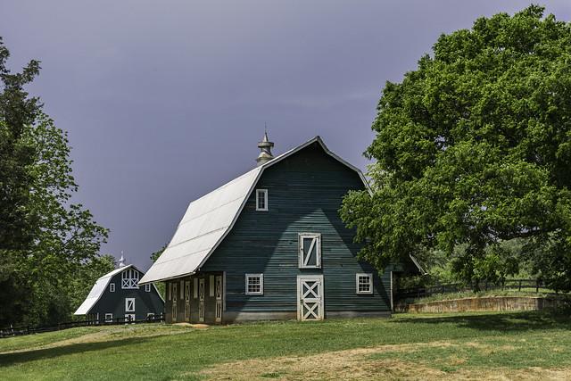 Horse Barn on the Historic James Madison Montpelier estate
