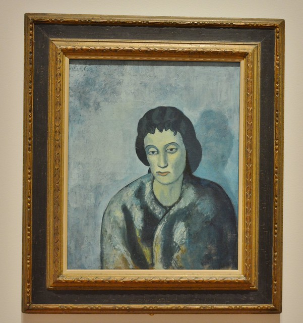 Woman with Bangs, Picasso: Painting the Blue Period, Art Gallery of Ontario, AGO, 317 Dundas Street West, Toronto, ON