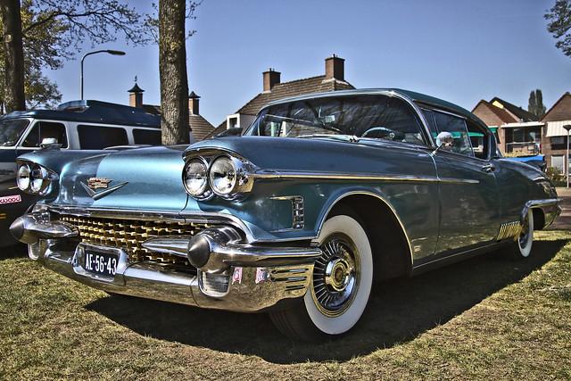 Cadillac Eldorado Seville Coupé 1958 (9881)