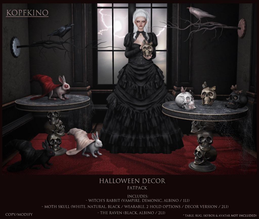 NEW! KOPFKINO – Halloween Decor for The Epiphany