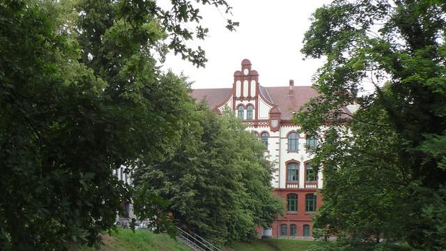 1902/06 Güstrow repräsentatives Realgymnasium und Realschule Am Wall 6 in 18273