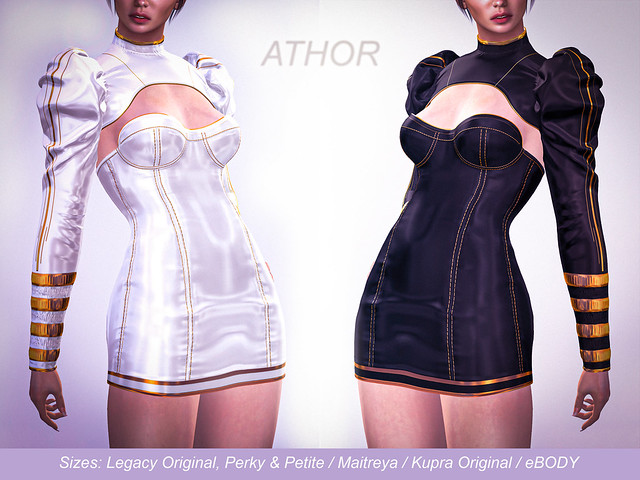 ATHOR - Emma Dress - October round - Tres Chic