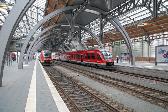 DB Regio 648 462 + 648 344 Lübeck Hbf