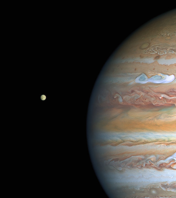 Hubble finds evidence of persistent water vapour atmosphere on Europa