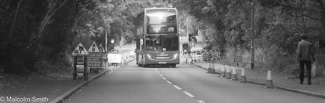 Roadworks In Whitehall Road