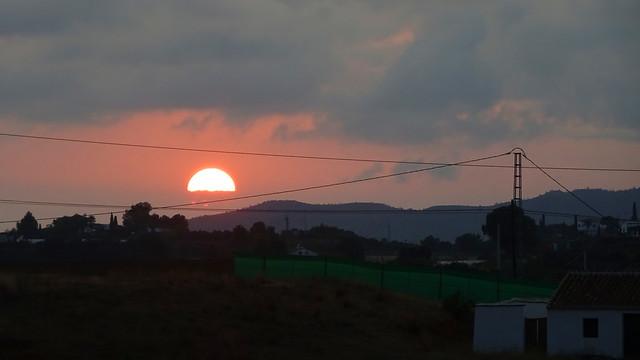 Sunset in Almayate_09649