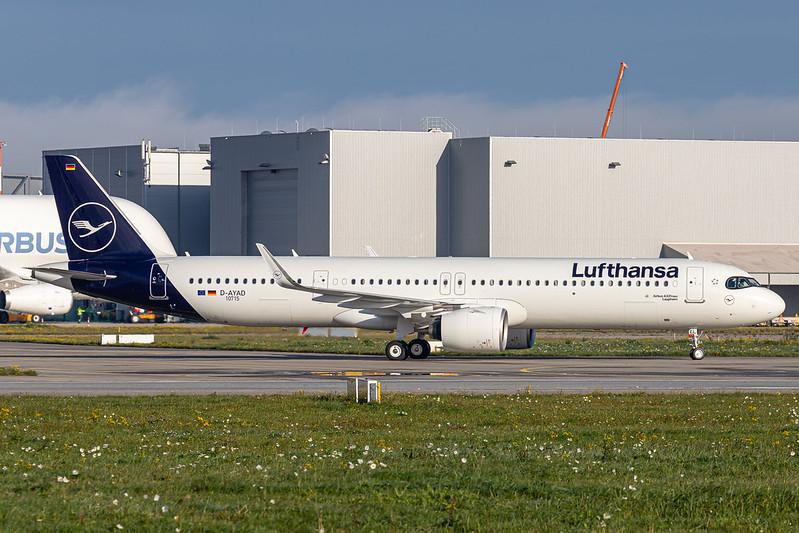 A321-271NX Lufthansa D-AYAD - D-AIEL MSN10715