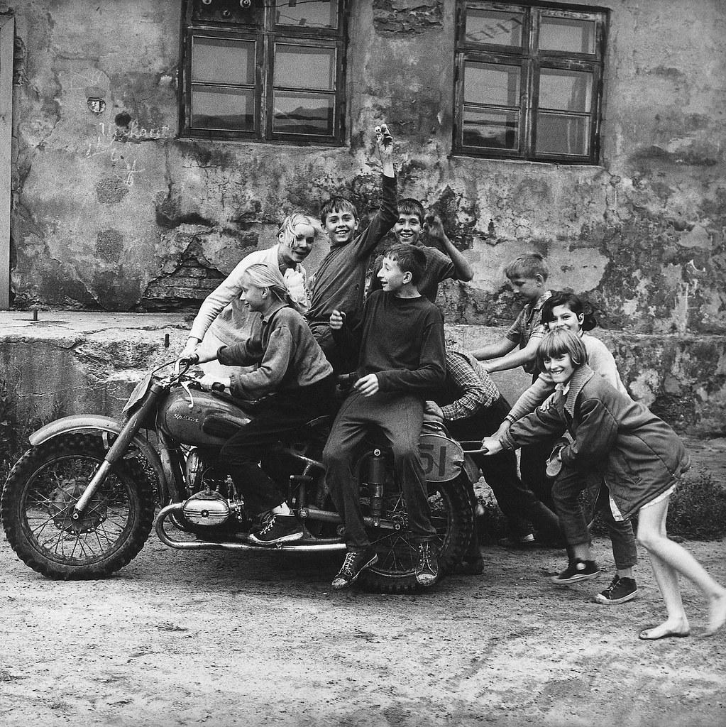 1974. Первые байкеры Литвы