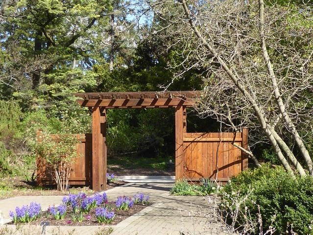 Lisle, IL, Morton Arboretum, Revisiting Spring, Fragrance Garden Gate