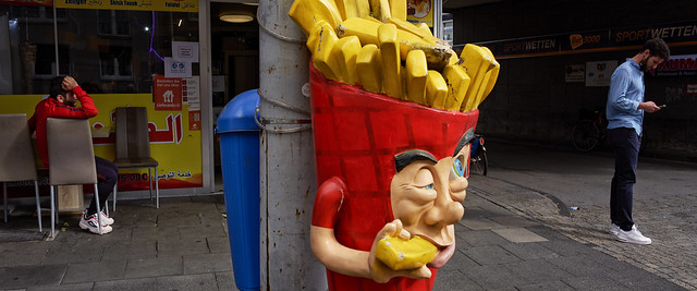 French Fries - 24mm anamorphic lens