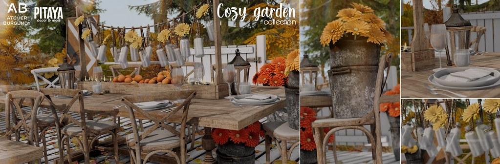 AB + Pitaya . Cozy Garden @ K9