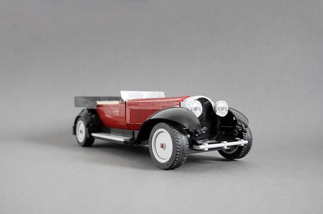 Bugatti Type 41 Packard Prototype
