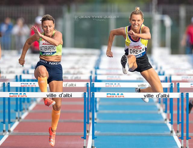 Magalie Drean - Aline Vattier Petro  -  Championnats de France Masters 2021 à Albi
