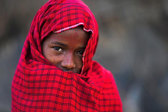 Rendille girl - Kenya