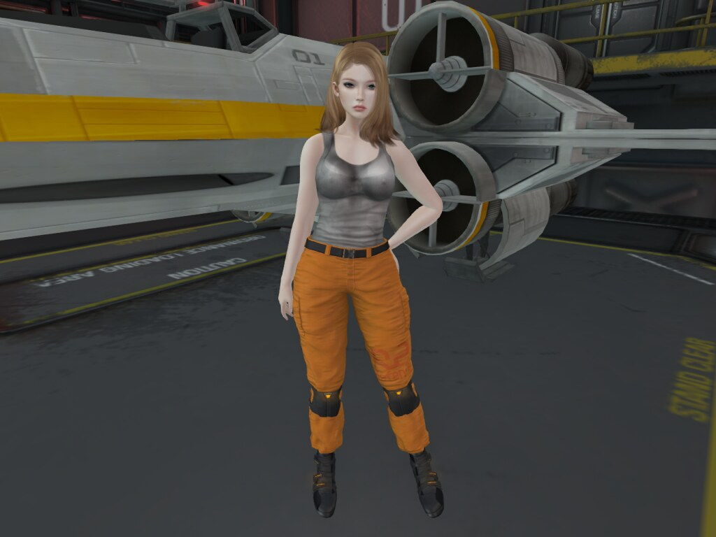 X-wing cosplay