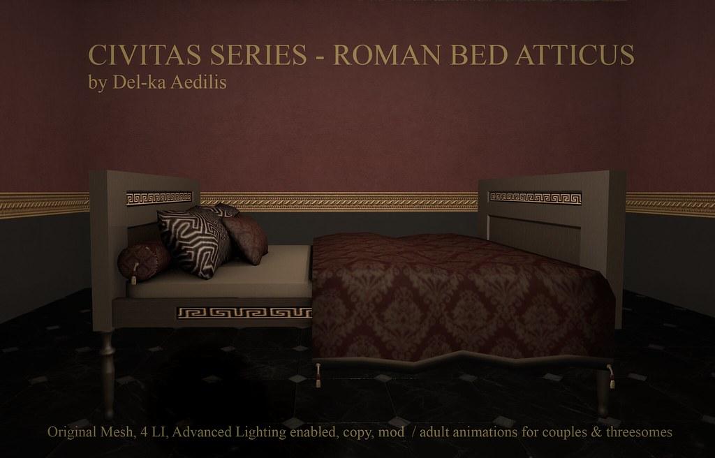 CivitasSeries – Roman Bed Atticus