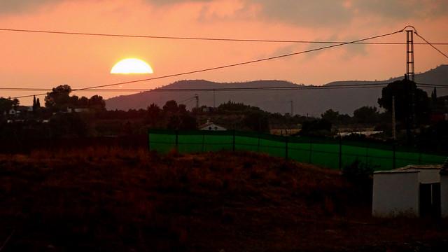 Sunset in Almayate_09650