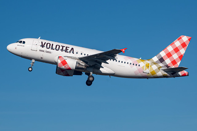 Volotea / A319 / EC-MUY / LFRS 21