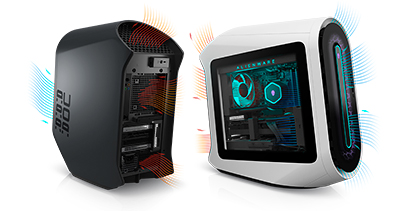 Every Alienware Aurora configuration ships standard with two 120mm fans installed (one front intake and one rear exhaust), while higher-performance configurations may also ship with a third and/or fourth 120mm fan(s) pre-installed (serving as a second front intake and top exhaust fan, respectively).