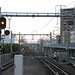 Yokosuka Line Tracks at the South of Musashi-kosugi Station