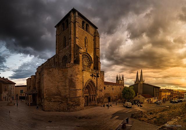 Church of  San Esteban, Burgos, Spain