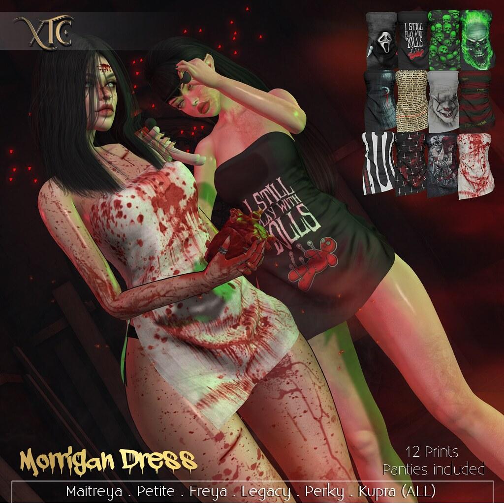 .Morrigan Dress. @Blood Thristy event