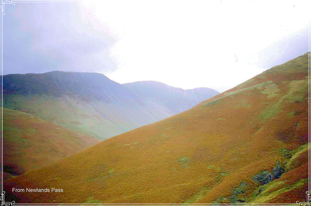 From the Buttermere side of Newlands Pass