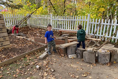 building the hunting camp