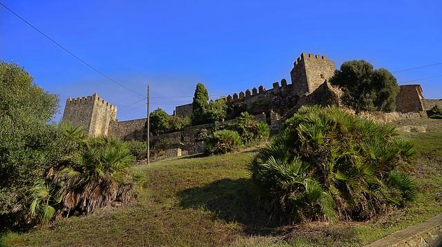 Castellar de la Frontera. Fortaleza del siglo X. Cadiz.