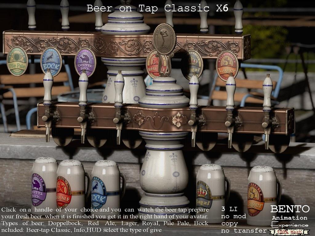 Classic Beertap X6