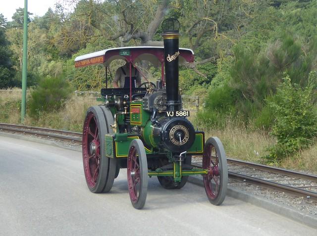 Clayton Shuttleworth Steam Tractor 49008