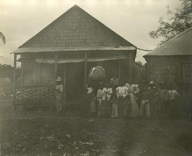 Group of natives, Aricebo, Puerto Rico