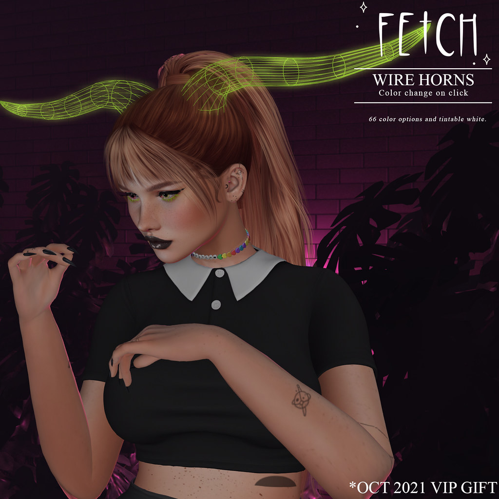 [Fetch] Wire Horns @ VIP Gift