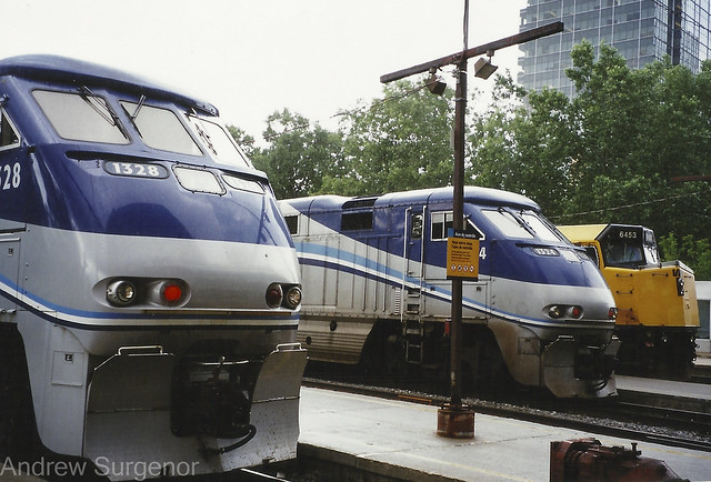 Montreal commuter trains