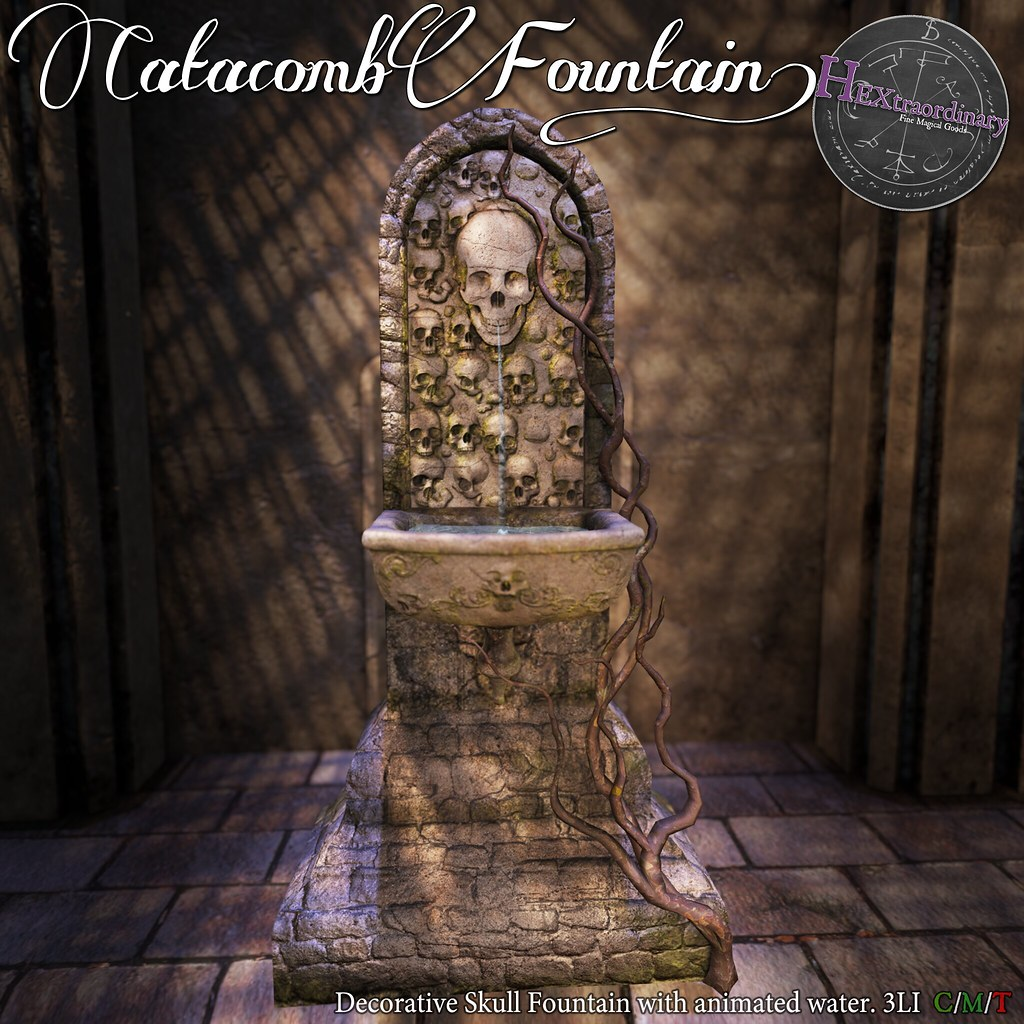 HEXtraordinary – Catacomb Fountain – The Epiphany