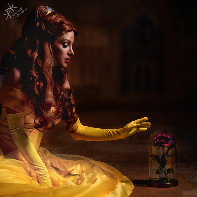 Grace as Belle, from Beauty and the Beast, by SpirosK photography (II: Lost in the Darkness)
