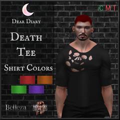 Dear Diary: Death Tee @ Thirsty Event