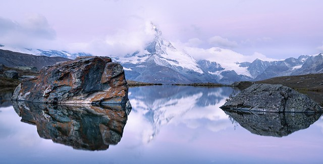 Stellisee Sunrise, Zermatt, Switzerland