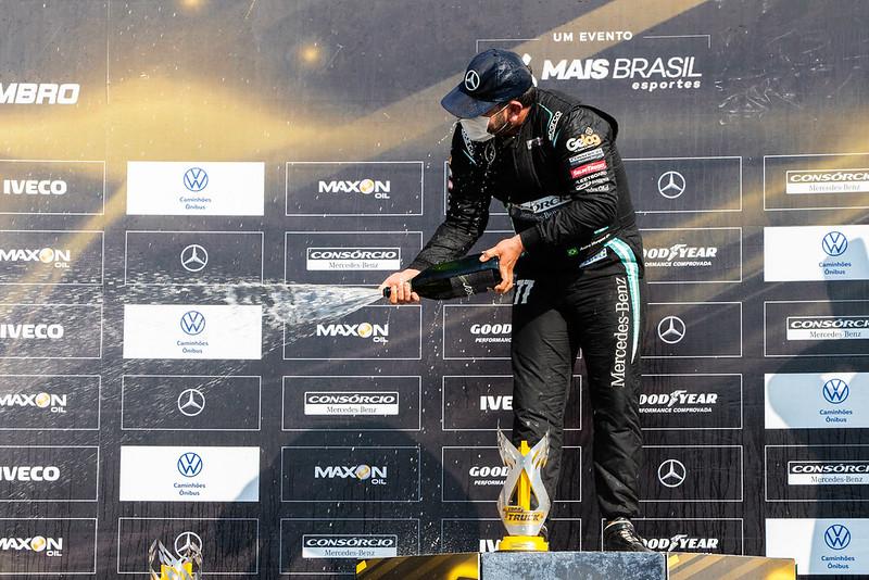 05/09/21 - Emoções da corrida 1 da 7ª etapa da Copa Truck 2021 - Fotos: Duda Bairros e Rafael Gagliano