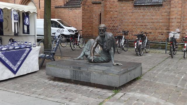 1972 Güstrow Archimedes (287 v.Ch. - 212 v.Ch.) von Gerhard Thieme Bronze Markt in 18273