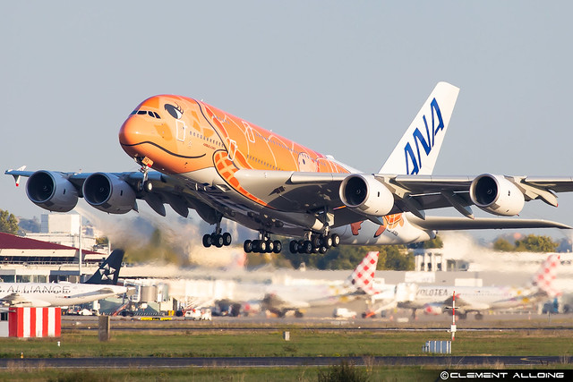 All Nippon Airways ANA Airbus A380-841 cn 266 JA383A