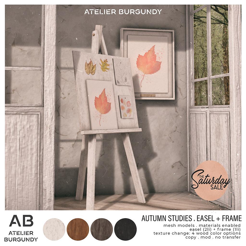 Atelier Burgundy . Autumn Studies TSS