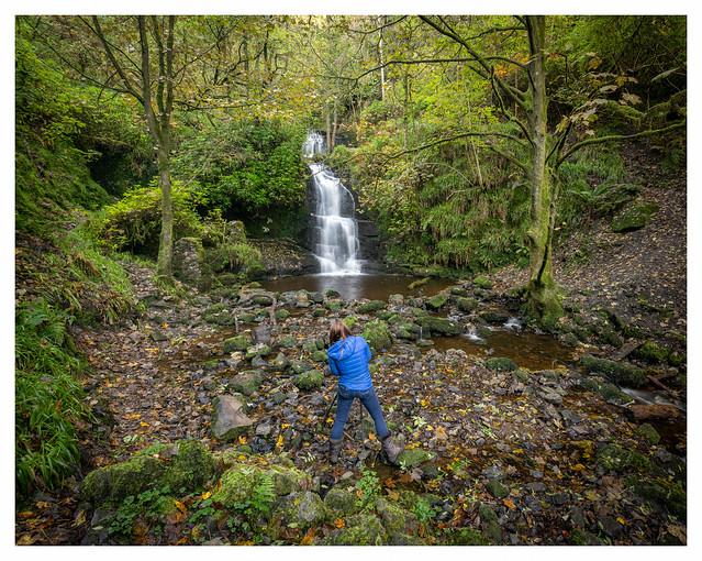 Nant y Ffrith Waterfall