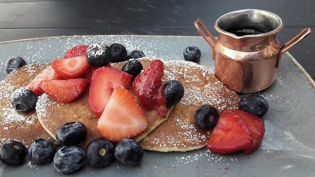 Strawberries, Sugar and Syrup.....